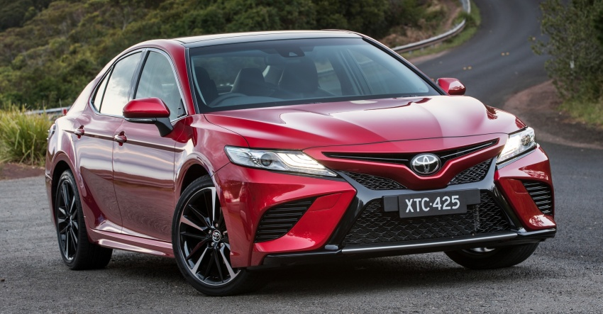 2018 Toyota Camry debuts in Australia – from RM86k Image #741192