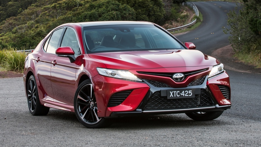 2018 Toyota Camry debuts in Australia – from RM86k Image #741193