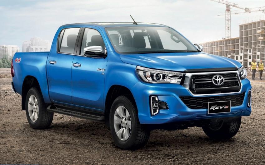 Toyota Hilux facelift di Thailand dapat muka Tacoma Image #737744