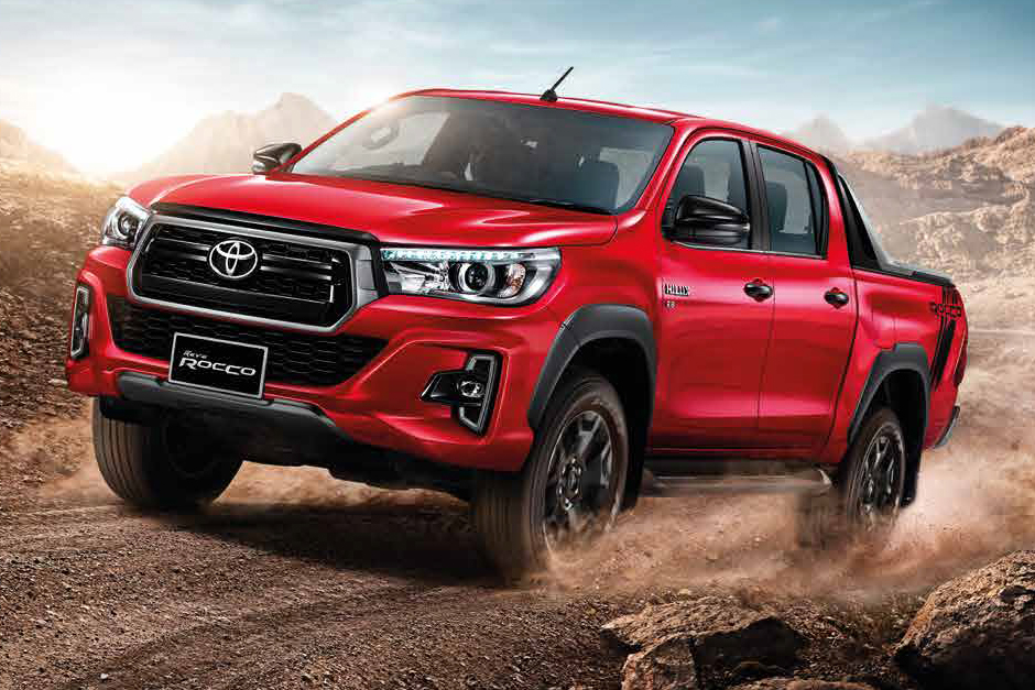 2018 toyota hilux facelift gets new tacoma style face image 737641. Black Bedroom Furniture Sets. Home Design Ideas