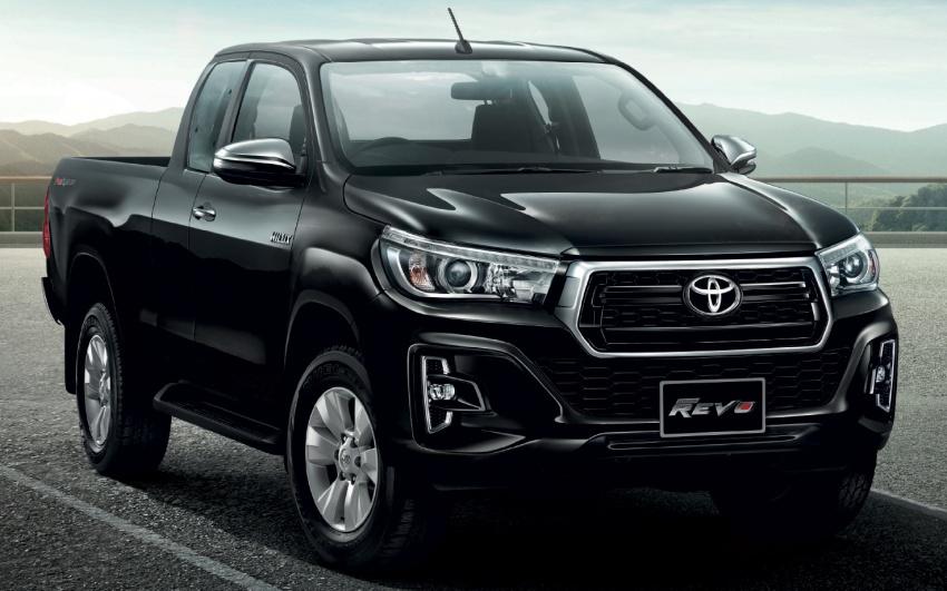 Toyota Hilux facelift di Thailand dapat muka Tacoma Image #737764