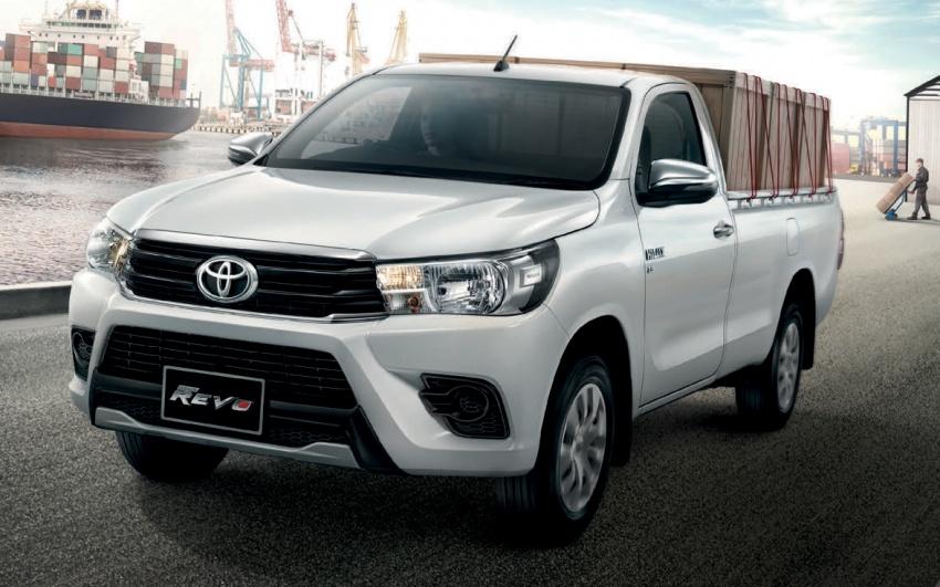 Toyota Hilux facelift di Thailand dapat muka Tacoma Image #737768