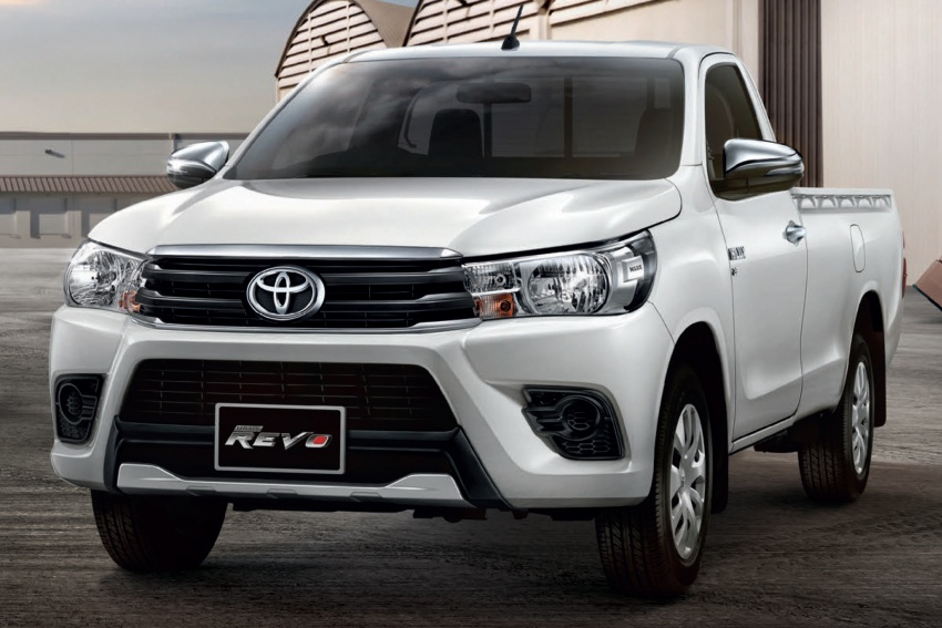 2018 Toyota Hilux Facelift Gets New Tacoma Style Face Paul