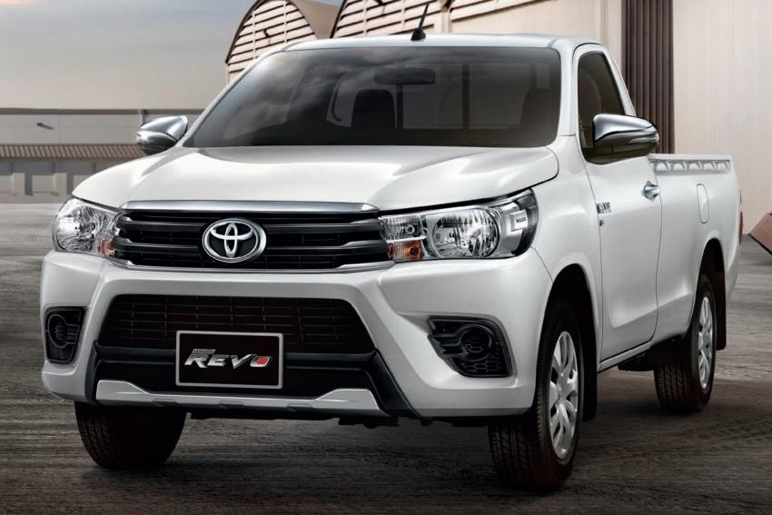 Toyota Hilux facelift di Thailand dapat muka Tacoma Image #737771