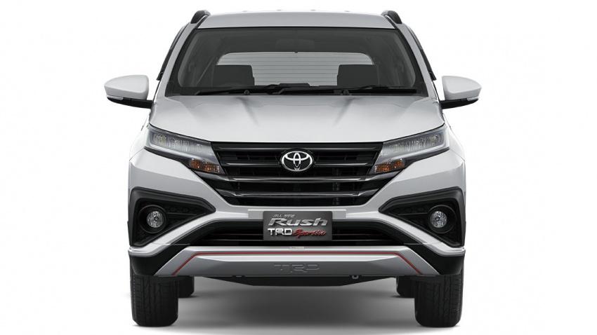 Toyota Rush 2018 buat kemunculan sulung global di Indonesia – 1.5L Dual VVT-i, tujuh-tempat duduk Image #742769