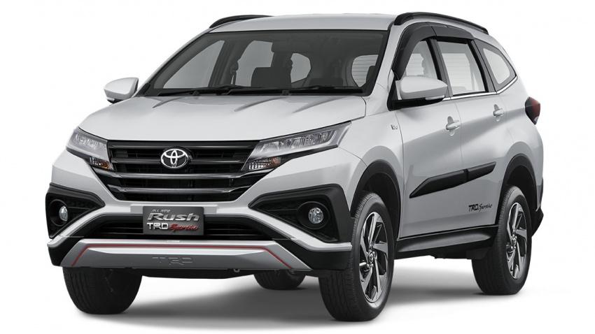 Toyota Rush 2018 buat kemunculan sulung global di Indonesia – 1.5L Dual VVT-i, tujuh-tempat duduk Image #742770