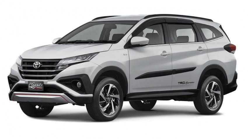 Toyota Rush 2018 buat kemunculan sulung global di Indonesia – 1.5L Dual VVT-i, tujuh-tempat duduk Image #742771