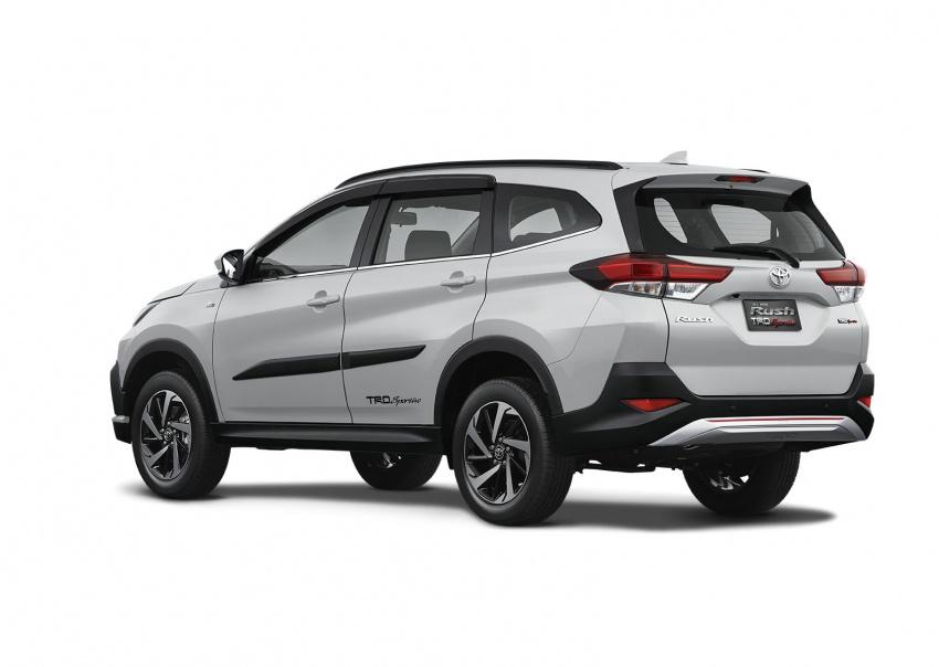 Toyota Rush 2018 buat kemunculan sulung global di Indonesia – 1.5L Dual VVT-i, tujuh-tempat duduk Image #742776