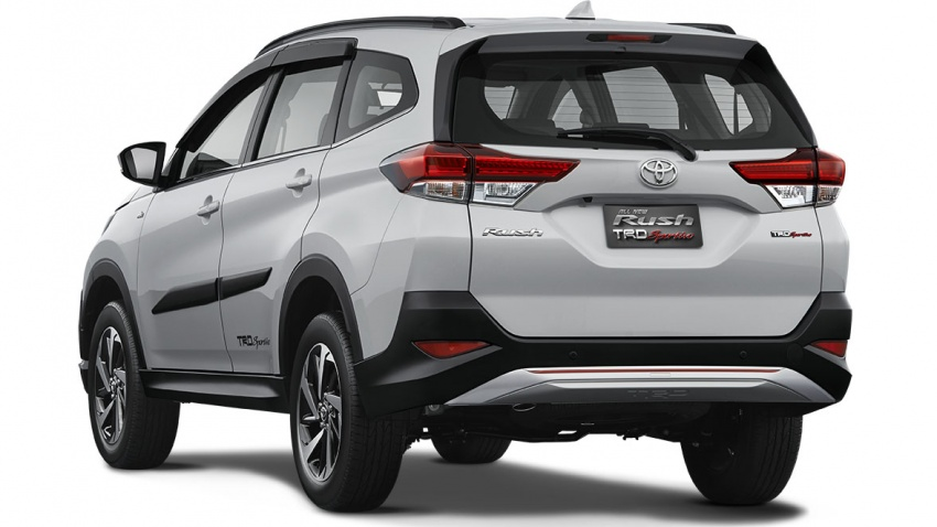 Toyota Rush 2018 buat kemunculan sulung global di Indonesia – 1.5L Dual VVT-i, tujuh-tempat duduk Image #742777