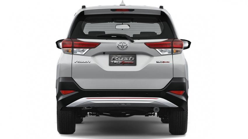 Toyota Rush 2018 buat kemunculan sulung global di Indonesia – 1.5L Dual VVT-i, tujuh-tempat duduk Image #742778
