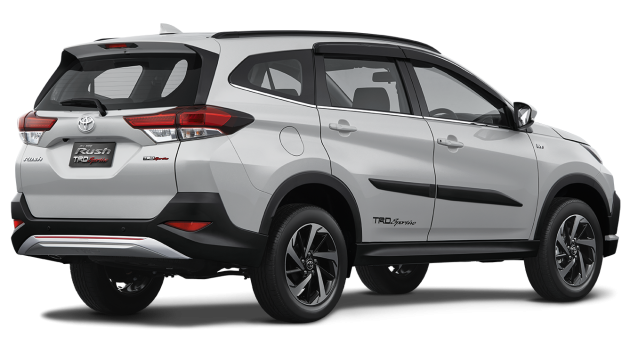 New 2018 Toyota Rush SUV makes debut in Indonesia