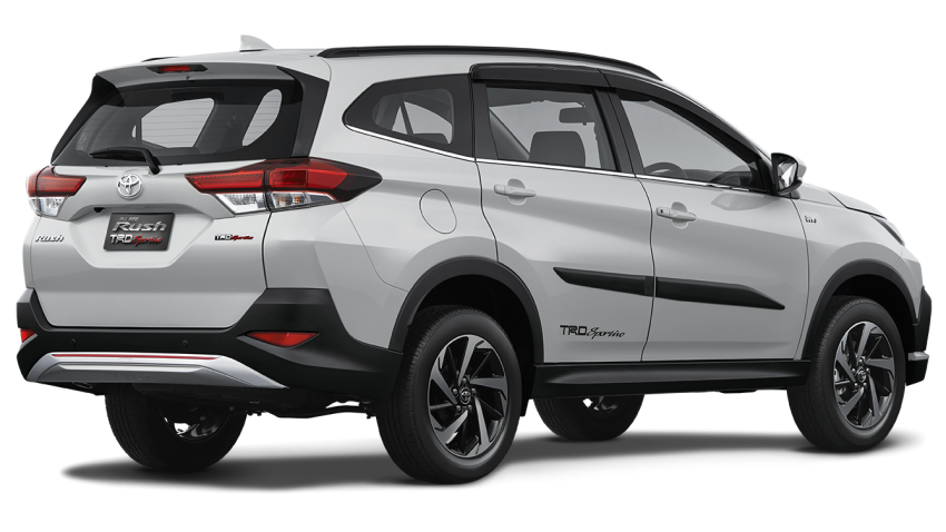New 2018 Toyota Rush SUV makes debut in Indonesia Image #742837