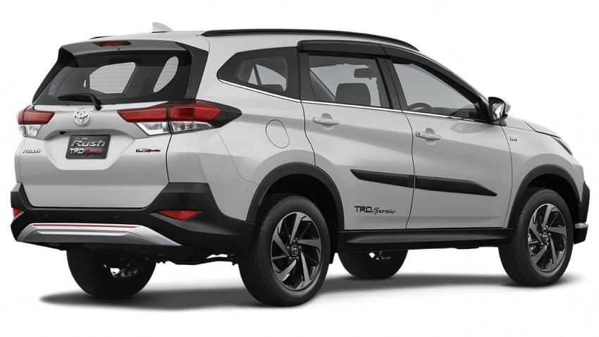 Toyota Rush 2018 buat kemunculan sulung global di Indonesia – 1.5L Dual VVT-i, tujuh-tempat duduk Image #742780