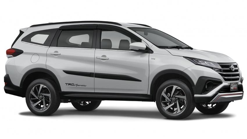 Toyota Rush 2018 buat kemunculan sulung global di Indonesia – 1.5L Dual VVT-i, tujuh-tempat duduk Image #742784