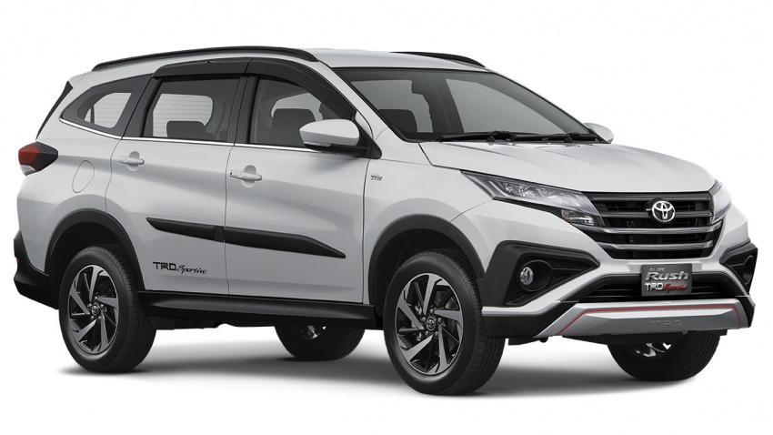 Toyota Rush 2018 buat kemunculan sulung global di Indonesia – 1.5L Dual VVT-i, tujuh-tempat duduk Image #742785