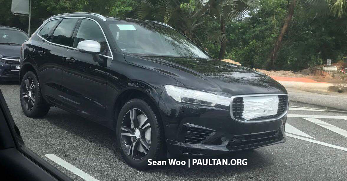 2018 volvo xc60 spotted in malaysia r design trim. Black Bedroom Furniture Sets. Home Design Ideas