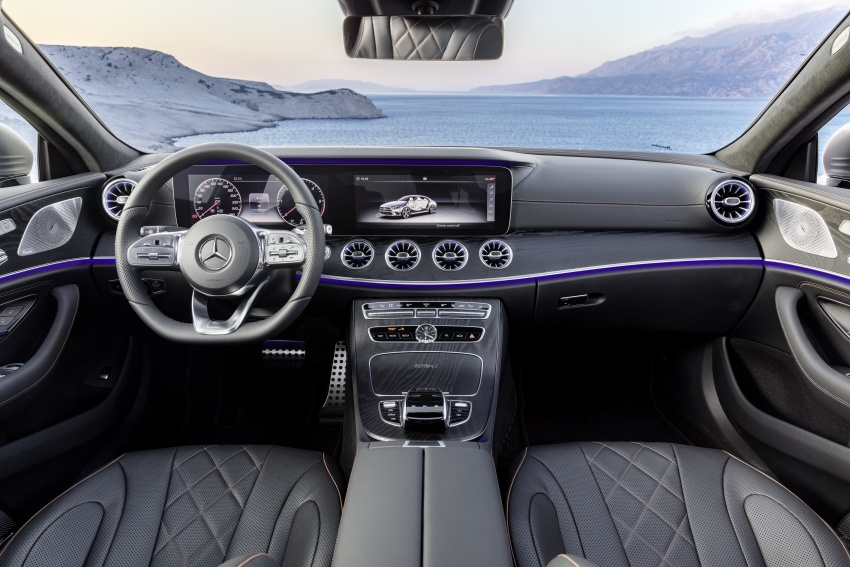 2019 Mercedes-Benz CLS debuts with new straight-six Image #745676