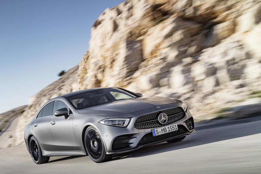 2019 Mercedes-Benz CLS debuts with new straight-six Image #745680