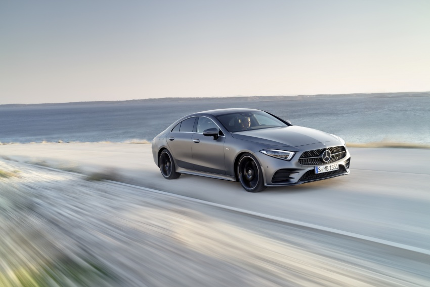 2019 Mercedes-Benz CLS debuts with new straight-six Image #745682