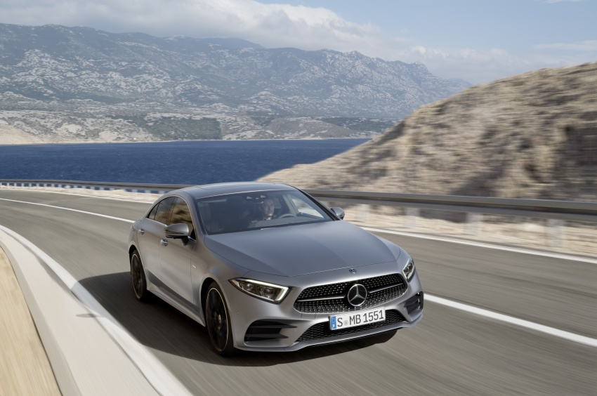 2019 Mercedes-Benz CLS debuts with new straight-six Image #745686