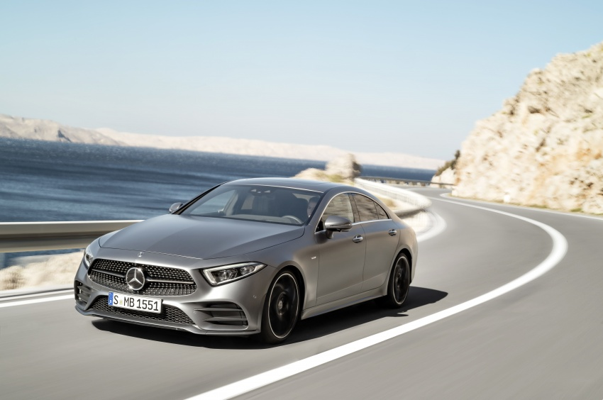 2019 Mercedes-Benz CLS debuts with new straight-six Image #745688