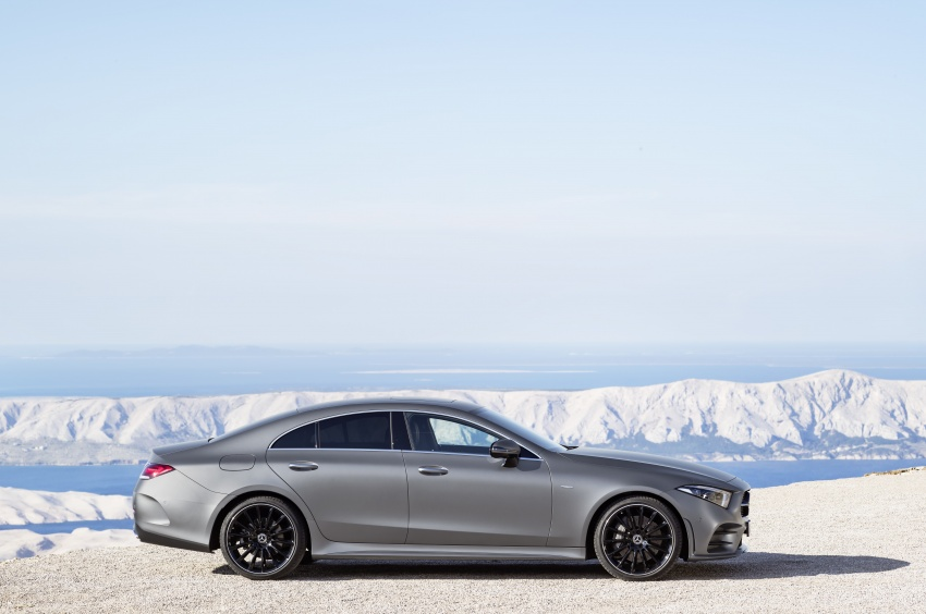 2019 Mercedes-Benz CLS debuts with new straight-six Image #745690