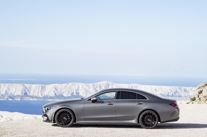 2019 Mercedes-Benz CLS debuts with new straight-six Image #745691