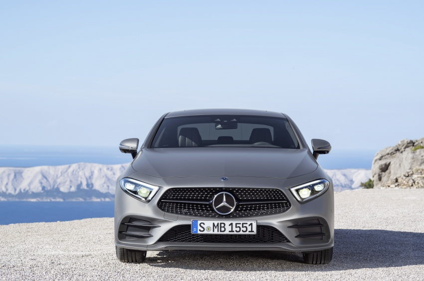 2019 Mercedes-Benz CLS debuts with new straight-six Image #745692