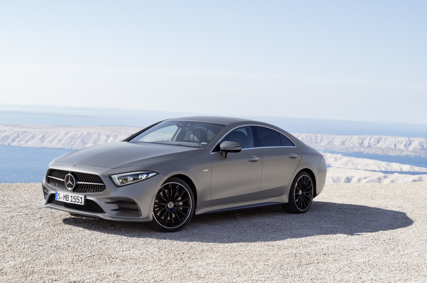 2019 Mercedes-Benz CLS debuts with new straight-six Image #745693