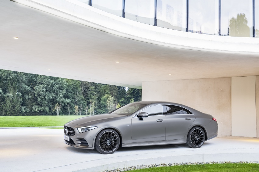 2019 Mercedes-Benz CLS debuts with new straight-six Image #745698