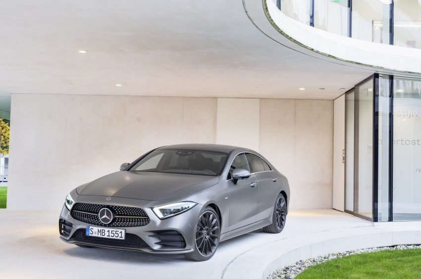 2019 Mercedes-Benz CLS debuts with new straight-six Image #745699