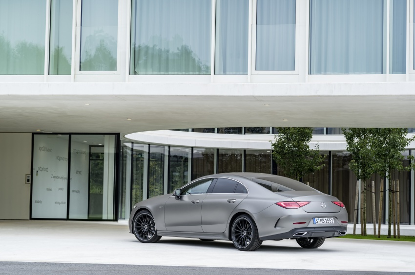 2019 Mercedes-Benz CLS debuts with new straight-six Image #745700