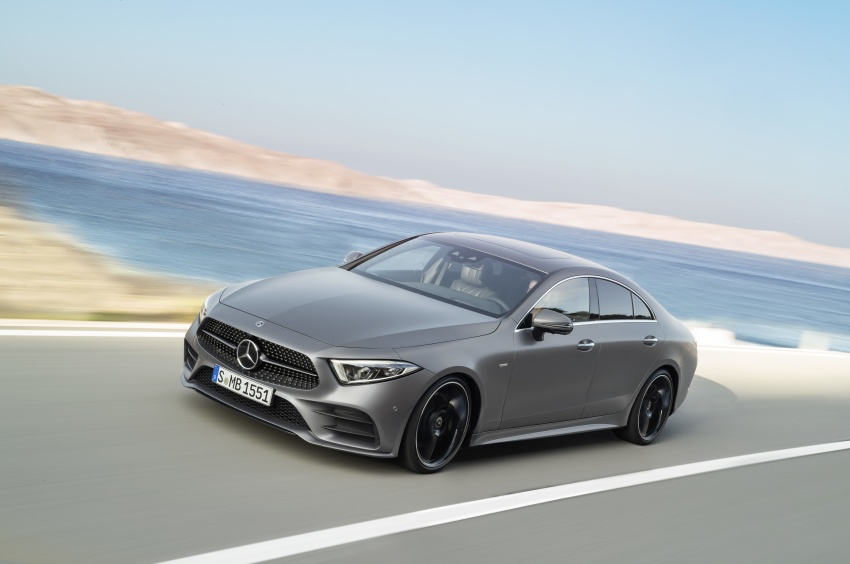 2019 Mercedes-Benz CLS debuts with new straight-six Image #745703