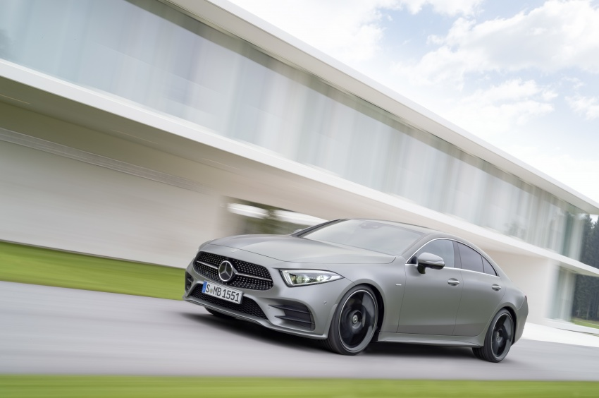 2019 Mercedes-Benz CLS debuts with new straight-six Image #745709