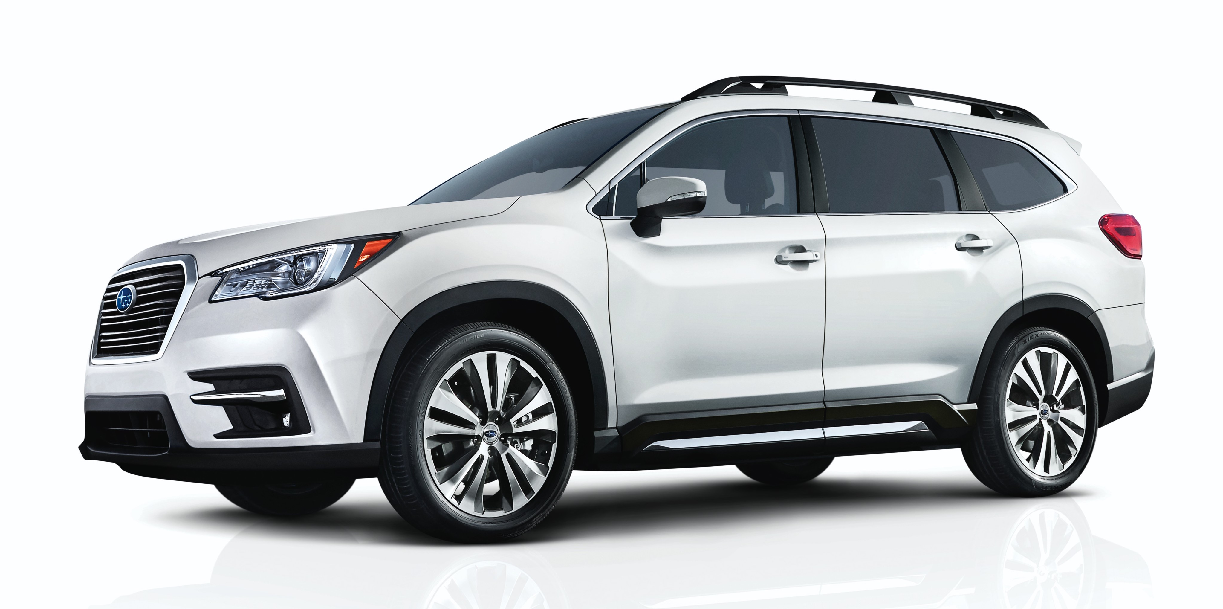 2019 subaru ascent eight seat suv makes its debut. Black Bedroom Furniture Sets. Home Design Ideas