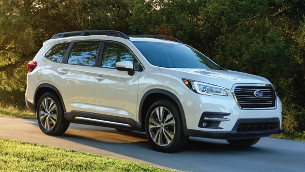 2019 Subaru Ascent Eight Seat Suv Makes Its Debut