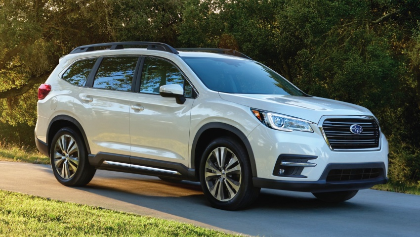 2019 Subaru Ascent – eight-seat SUV makes its debut Image #745111