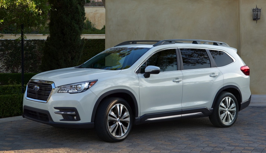 2019 Subaru Ascent – eight-seat SUV makes its debut Image #745112