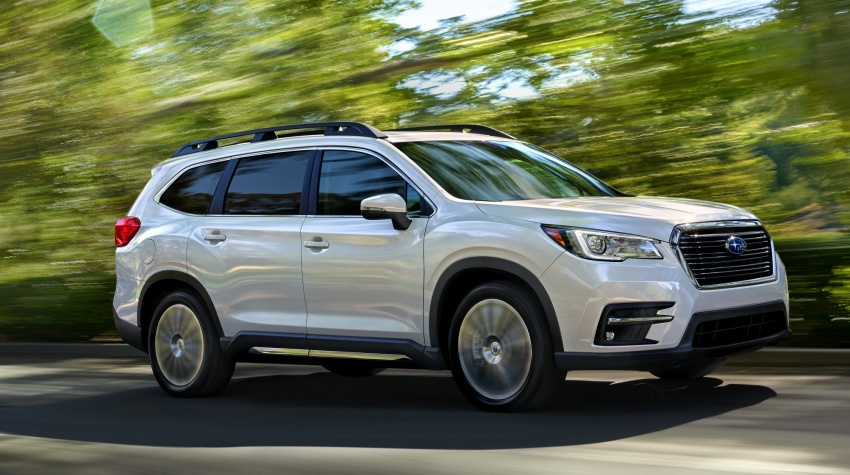 2019 Subaru Ascent – eight-seat SUV makes its debut Image #745113