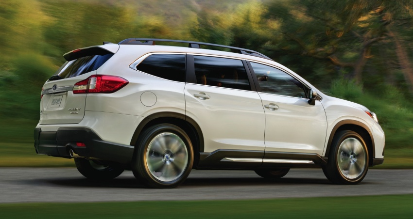 2019 Subaru Ascent – eight-seat SUV makes its debut Image #745114