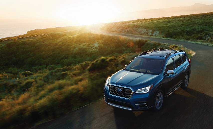 2019 Subaru Ascent – eight-seat SUV makes its debut Image #745122
