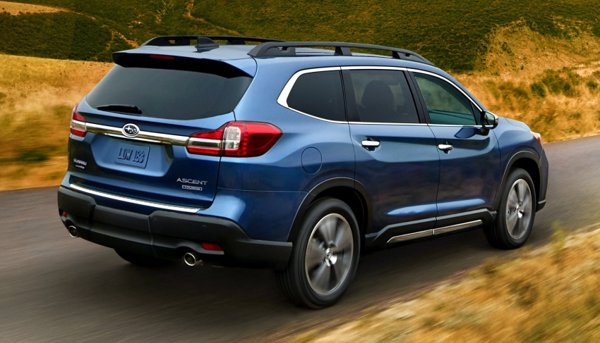 2019 Subaru Ascent – eight-seat SUV makes its debut Image #745123