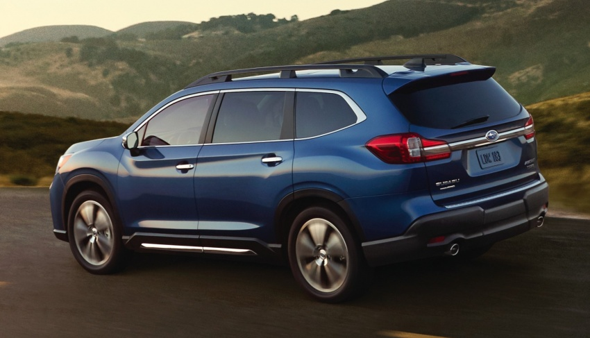 2019 Subaru Ascent – eight-seat SUV makes its debut Image #745124
