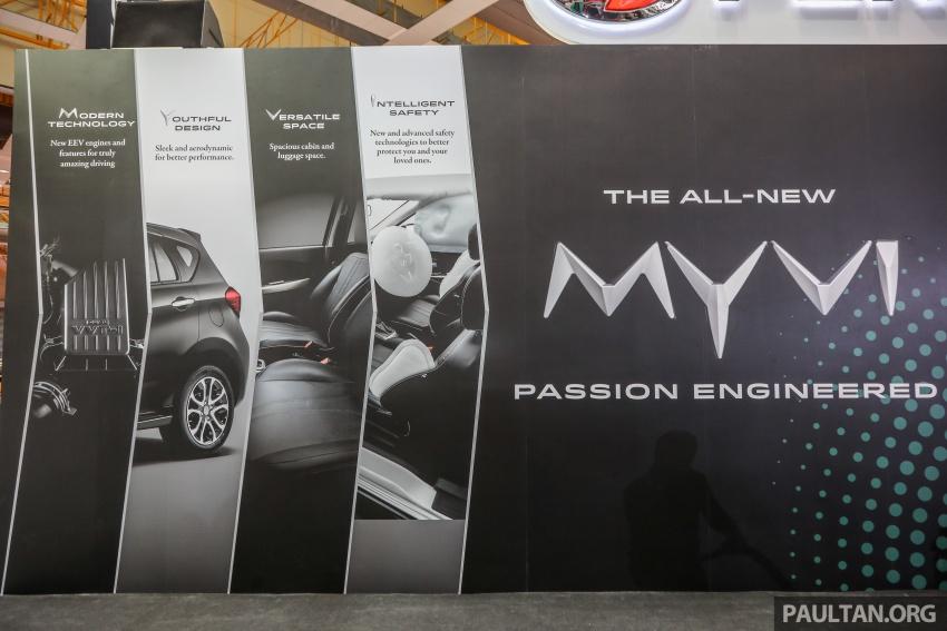 Perodua Myvi 2018 buat penampilan umum pertama Image #735030
