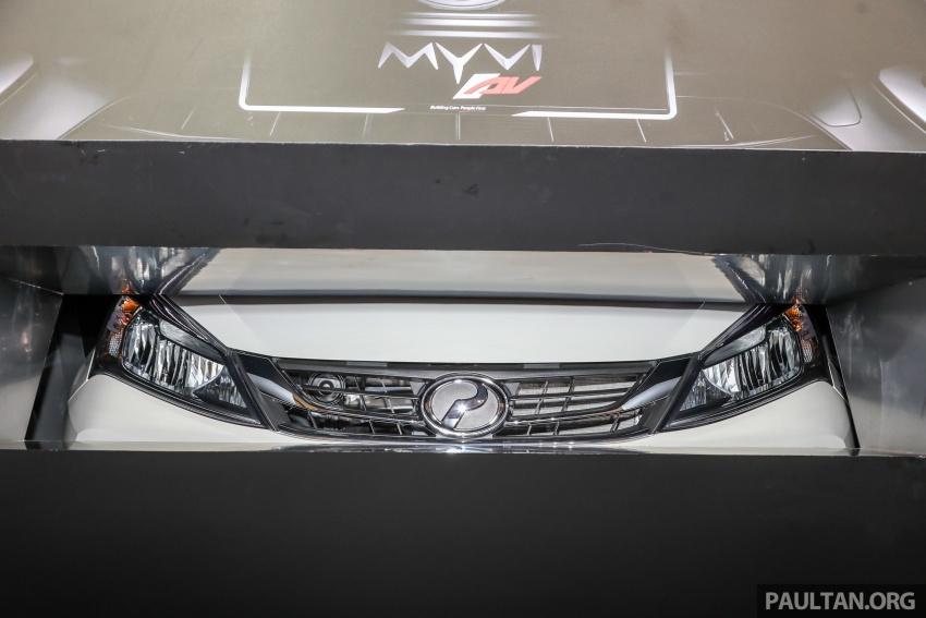 Perodua Myvi 2018 buat penampilan umum pertama Image #735036