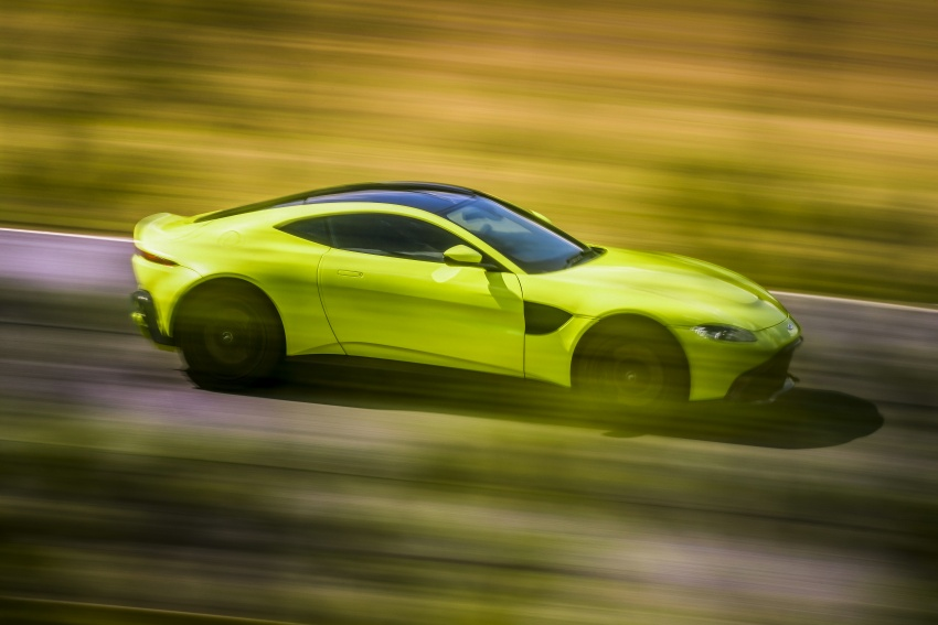 2018 Aston Martin Vantage revealed, packs 510 PS Image #742018