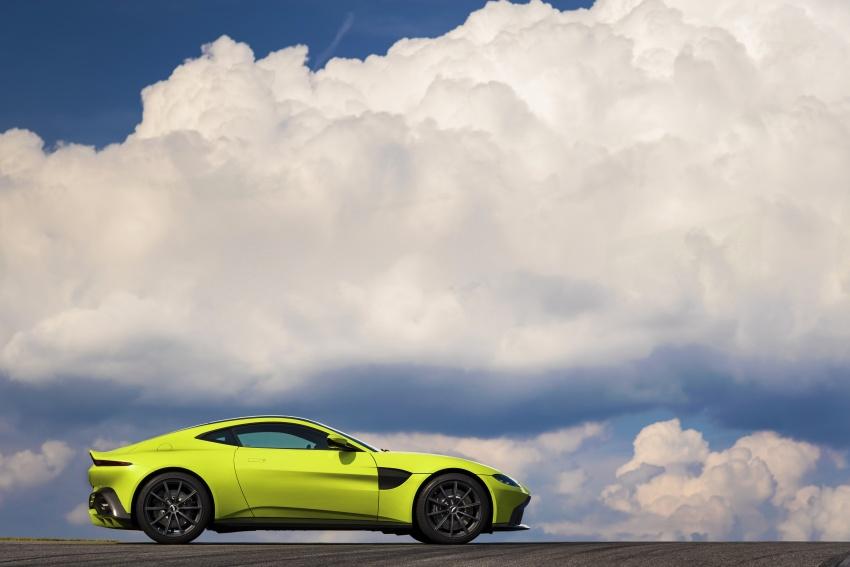 2018 Aston Martin Vantage revealed, packs 510 PS Image #742021