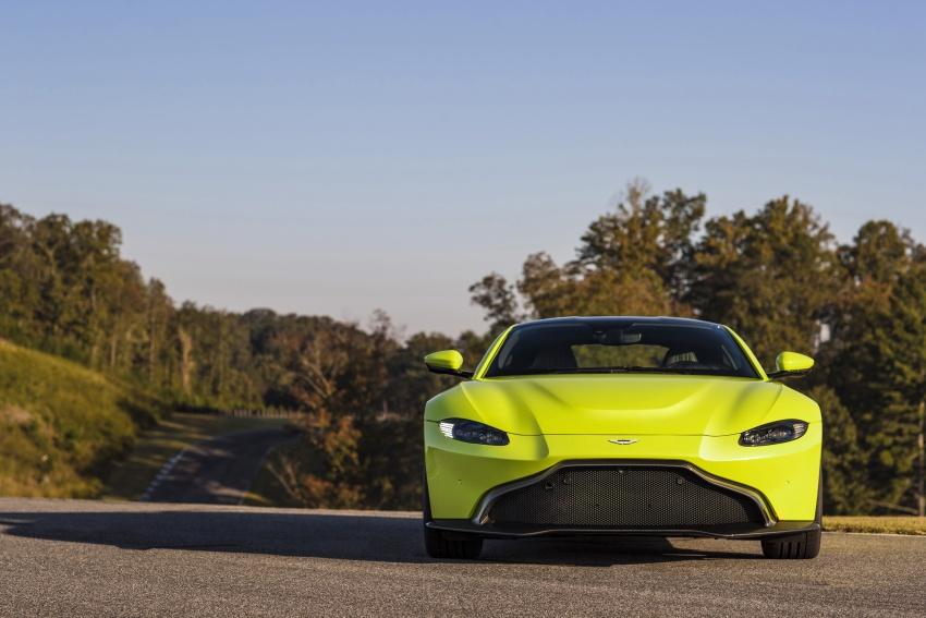2018 Aston Martin Vantage revealed, packs 510 PS Image #742022