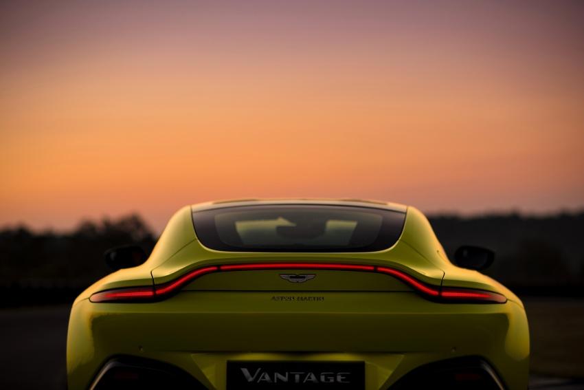 2018 Aston Martin Vantage revealed, packs 510 PS Image #742027