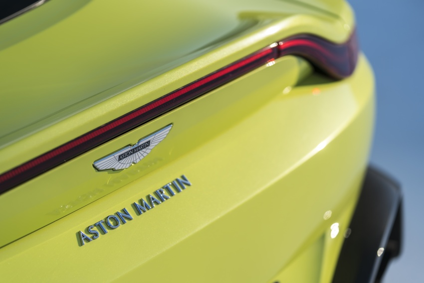 2018 Aston Martin Vantage revealed, packs 510 PS Image #742029